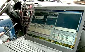 Распознавание номеров автомобилей должников в потоке машин