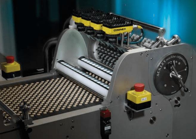 Автоматический подсчет продукции на конвейере центробежные конвейер